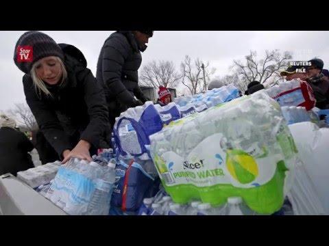 Democrat candidates shift focus to Michigan caucus, slam Governor over Flint water crisis
