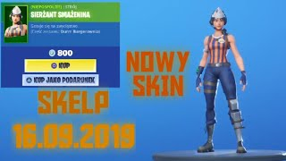 New Skin, shop Fortnite-September 16, 2019