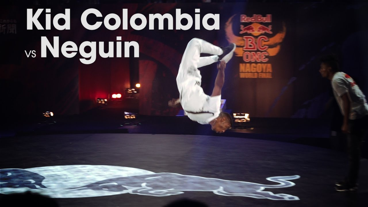 Kid Colombia vs Neguin // .stance // Red Bull BC One 2016