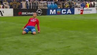 Sammandrag: Jordan Larsson sänkte AIK med dubbla mål - TV4 Sport