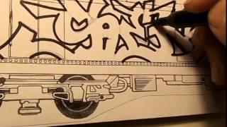 SHEK 2015 Graffiti Blackbook Sketch