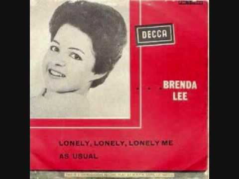 Brenda Lee - Lonely Lonely Lonely Me