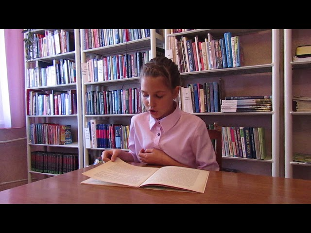 Изображение предпросмотра прочтения – ЭльвинаИсхакова читает отрывок изпроизведения «Бежин луг» И.С.Тургенева