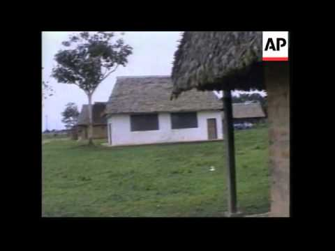BOLIVIA: CHIMAN TRIBE FIGHT OFF ENCROACHING 20TH CENTURY