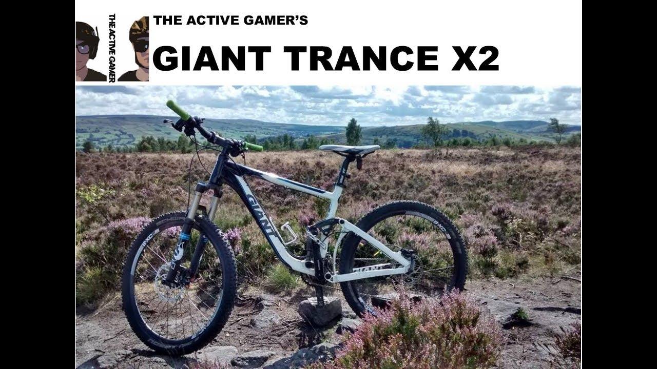 00e77ce2009 BIKE CHECK: GIANT TRANCE X2 2013 | My Bikes - YouTube
