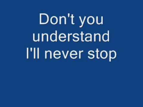 I'll Never Stop lyrics NSYNC