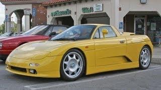 De Tomaso Guara` — спортивный автомобиль Италия 1993 2004