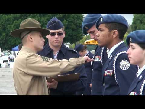 Lancaster High School 10 Person Armed Inspection - SCIDM 2010 [Part 1]