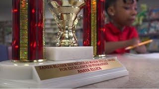 9-Year-Old Virginia Girl With No Hands Wins Another National Penmanship Award