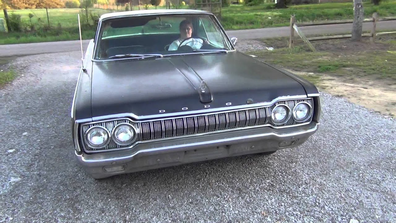 1965 dodge custom 880 383 auto video 2