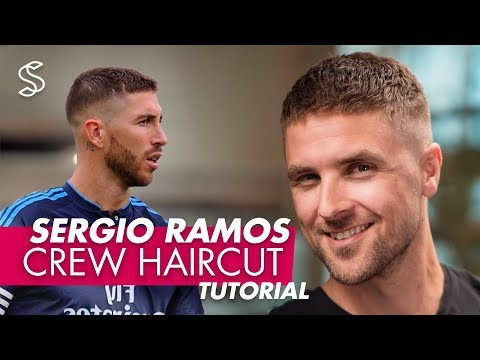 Sergio Ramos Haircut & Style | Crew Cut For Men Hair