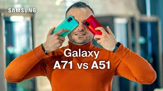Samsung Galaxy A51 vs A71 | Moldcell Unbox (review în română)