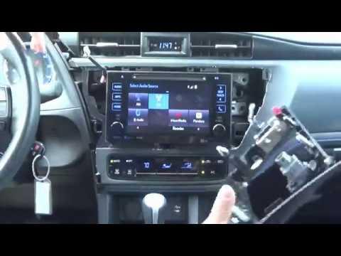 toyota factory siriusxm satellite radio upgrade - easy plug & play install!