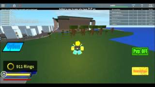 How to use Chaos control in Sonic rpg on roblox