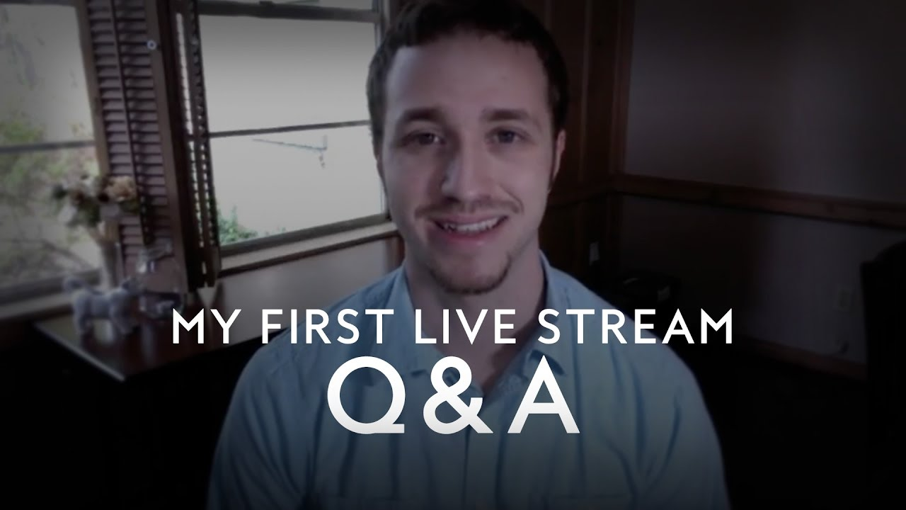 My First Live Stream Q&A - Troy Black