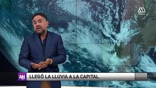 El tiempo: Revisa cómo se desarrollarán las precipitaciones en Santiago