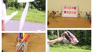 Diy Desk Decor And Organization ~ Simple Room Decor