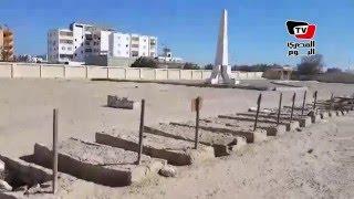 إهمال بمقابر شهداء معركة «شدوان» بالبحر الأحمر