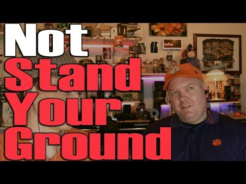 Florida Shooting is not Stand Your Ground