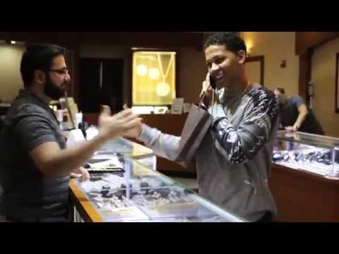 Lil Bibby Drops By Treasures Jewelry Of Chicago To Re-up On Some Jewelry