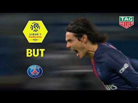 But Edinson CAVANI (7') / Paris Saint-Germain - Stade Rennais FC (4-1)  (PARIS-SRFC)/ 2018-19
