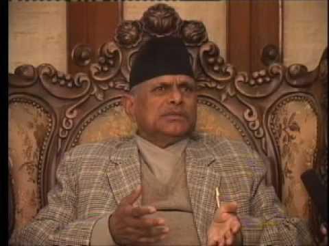 Sagarmatha TV USA Interview with President of Nepal Rt. Hon. Dr. Ram Baran Yadav Part-1