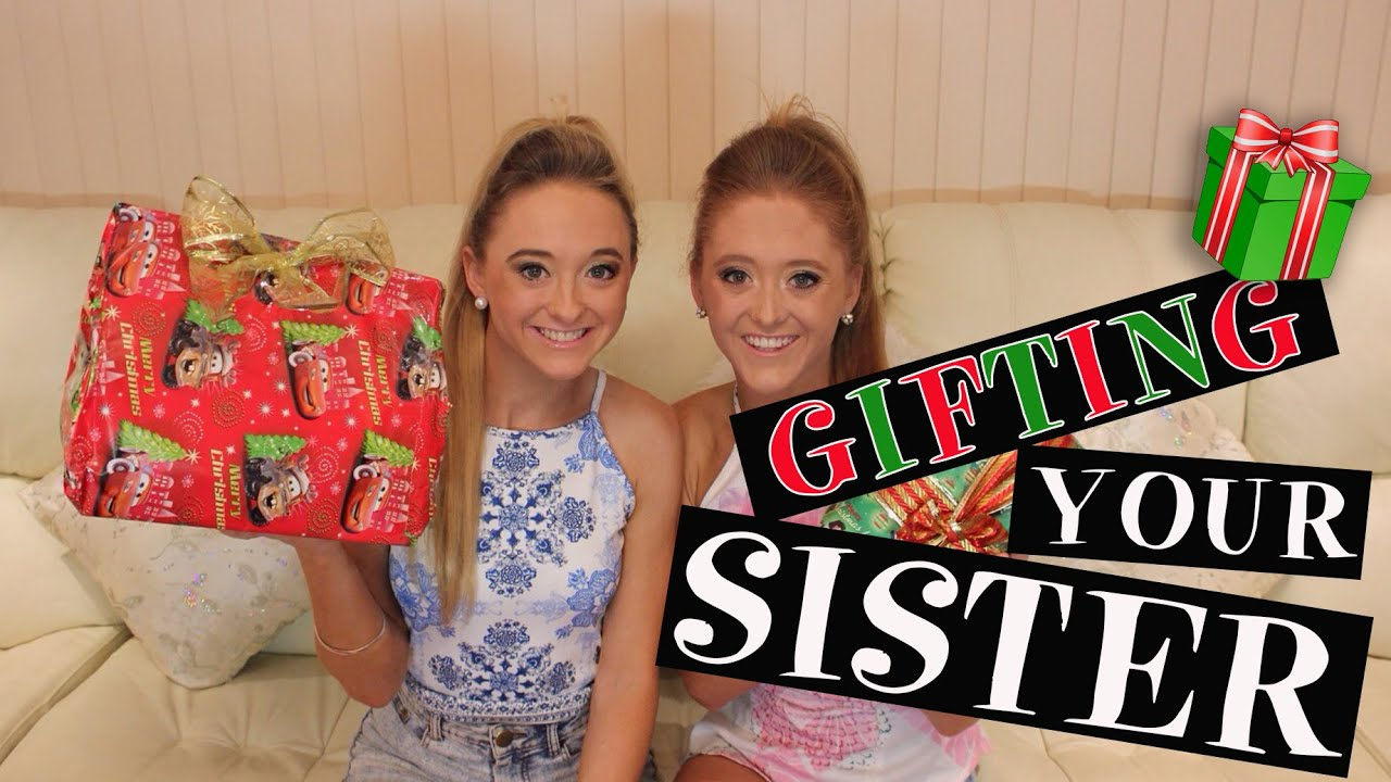 how to buy gifts for your sister twins teagan sam youtube