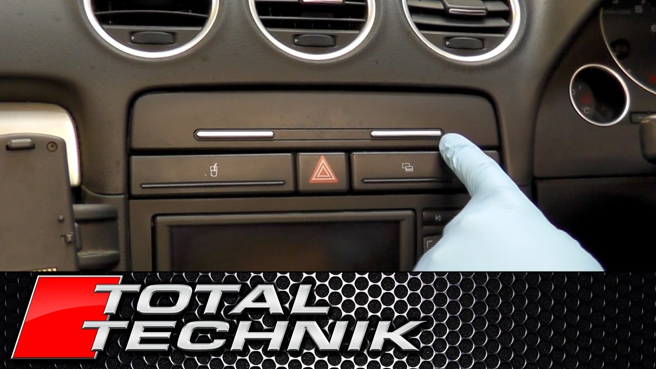 How To Remove Dashboard Storage Compartment Cabriolet
