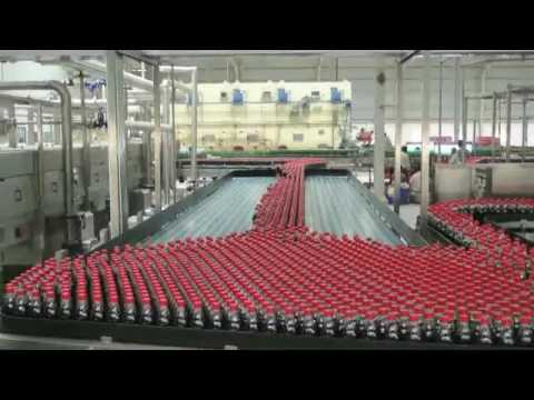 Coca cola production line