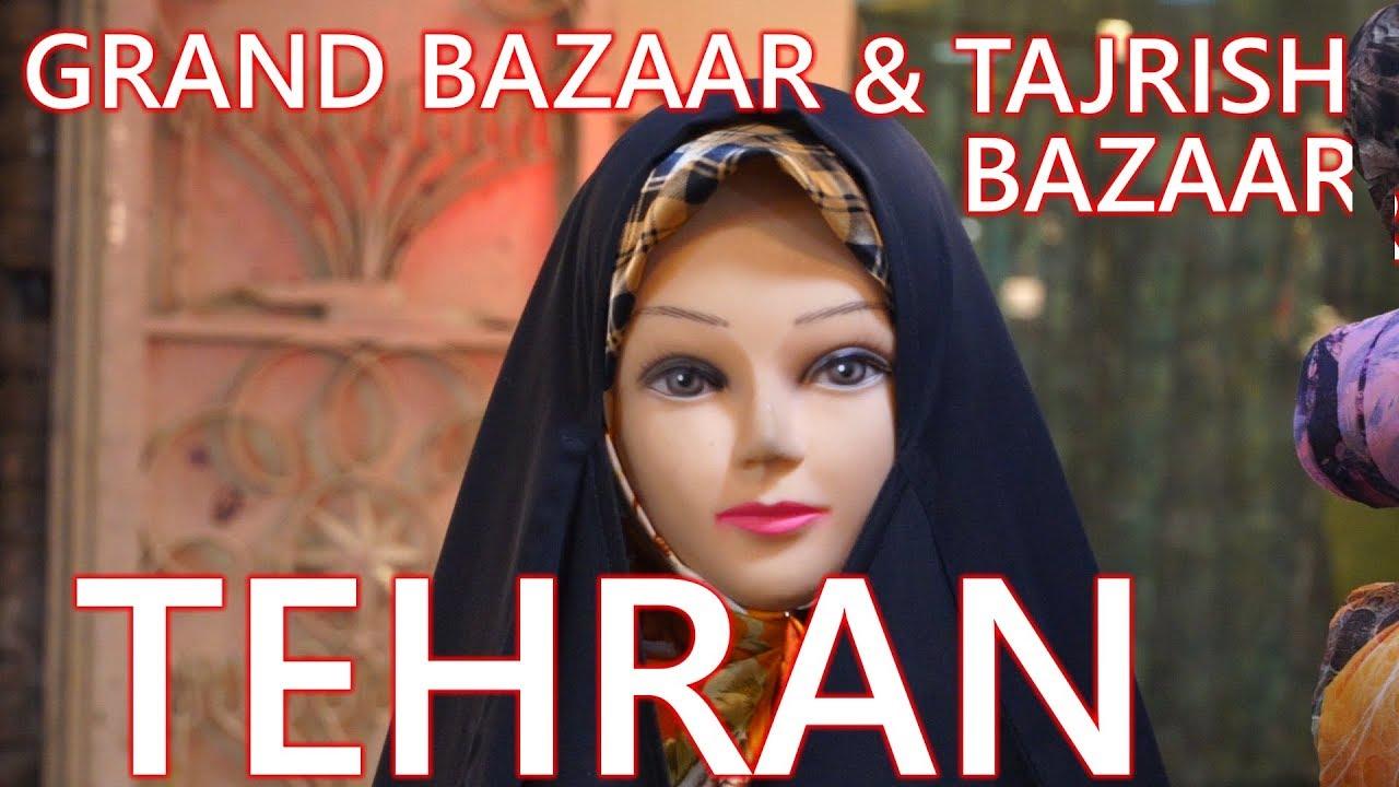 TEHRAN // IRAN // GRAND BAZAAR & TAJRISH BAZAAR (2018)