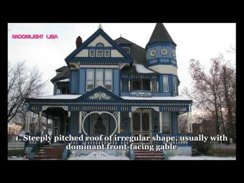 VERY BEAUTIFUL Victorian House Styles (and examples)