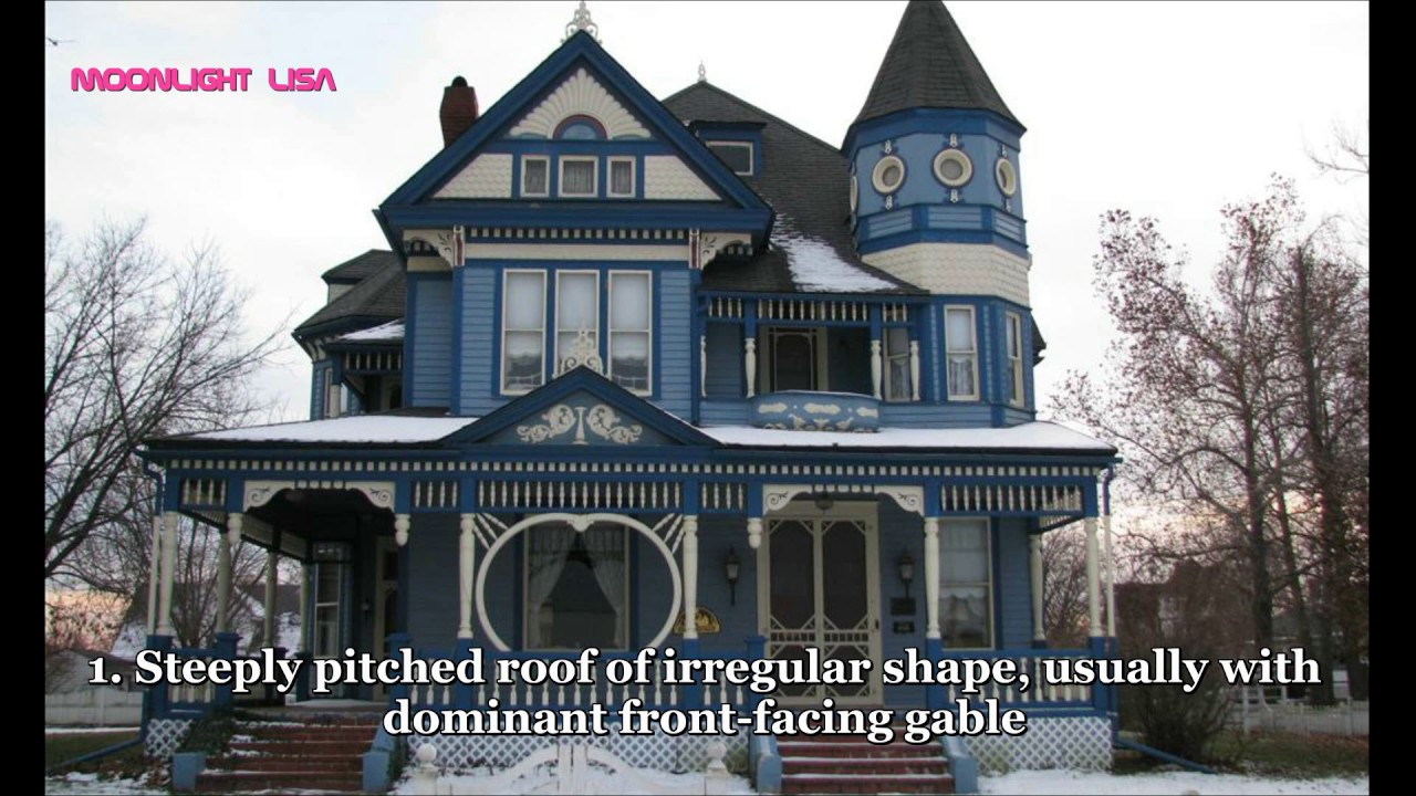 Very beautiful victorian house styles and examples youtube - What is a victorian house ...