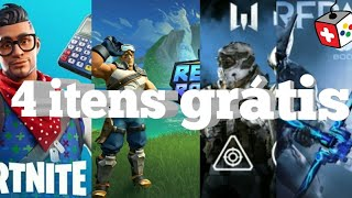 4 Gift on PSN plus-Fortnite, Realm Royale, Warframe and Warface