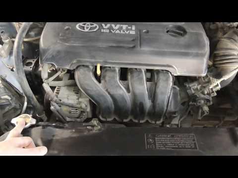 Печка дует холодным,или еле теплым воздухом!Как лечить, на примере Toyota Corolla E120!