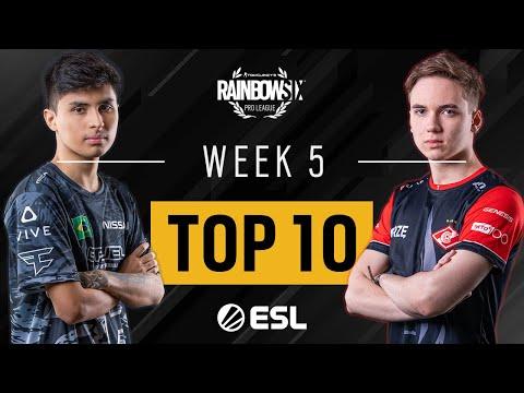Rainbow Six Pro League - Season XI - Top 10 Week 5