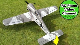 Focke Wulf FW-190 - Top Flite - 2160mm - Saito FG-84 R3 - MSG Stiftland - Olli HD