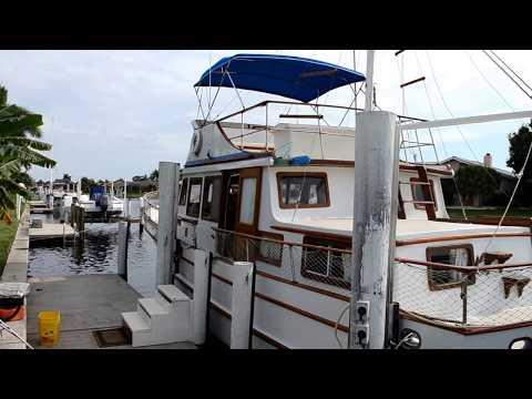 Marine Trader 44 Classic Trawler 1978