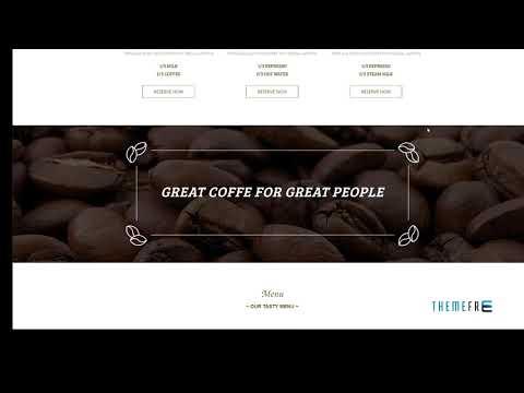 DELICATE Coffee HTML Template        | Free Template  Edgar Attila