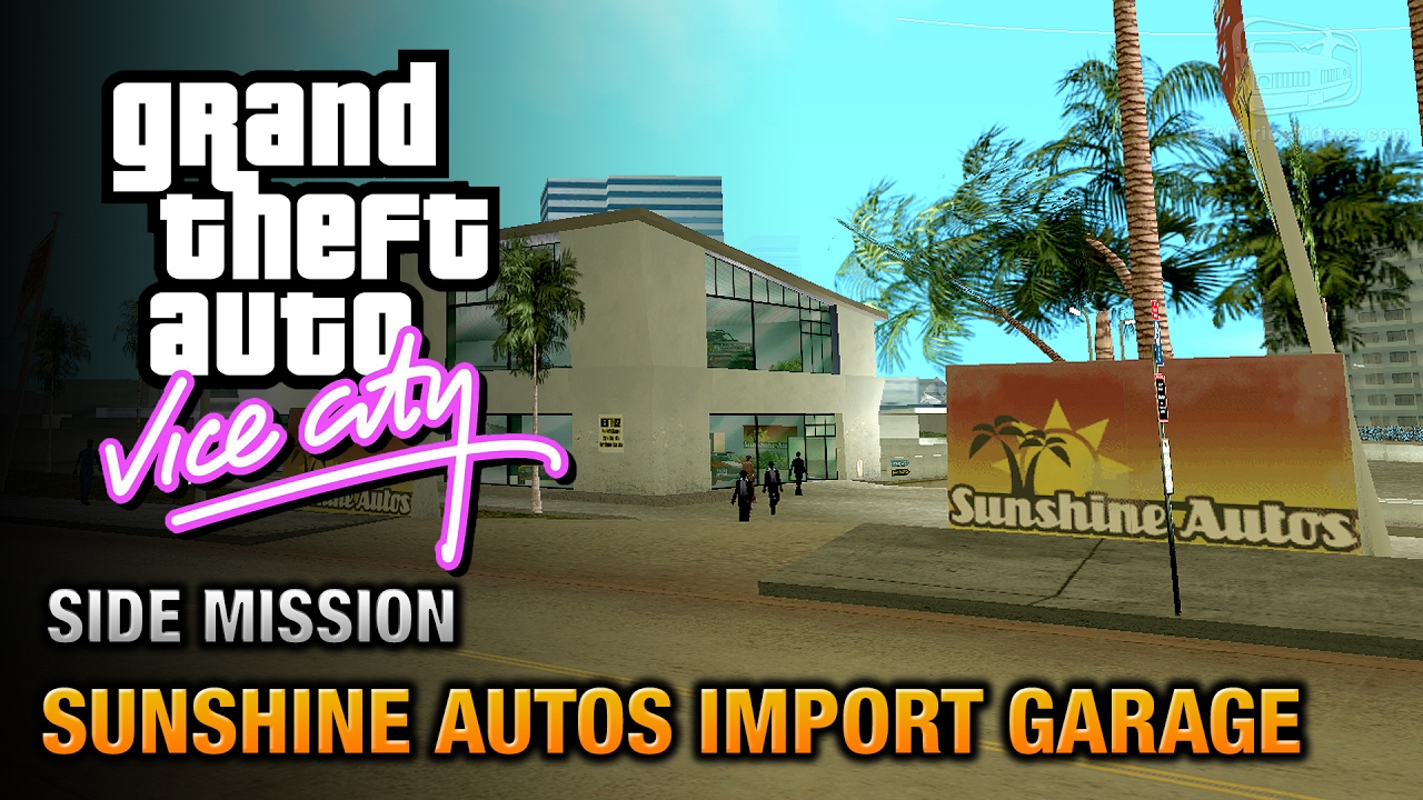 Gta Vice City Sunshine Autos Import Garage Grand Theft Auto Trophy Youtube