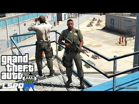 LSPDFR #557 -  CORRECTIONAL OFFICERS (GTA 5 REAL LIFE POLICE PC MOD)