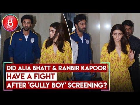 Did Alia Bhatt & Ranbir Kapoor Have Fight After 'Gully Boy' Screening? Mp3