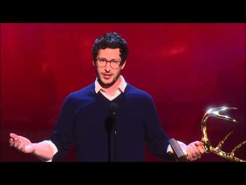 Guys Choice Awards: Andy Samberg Tells D*** and Fart Jokes