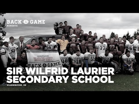 """Back in the Game"" Moments - Sir Wilfrid Laurier"