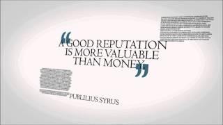Reputation Quotes, Online Business Reputation Management