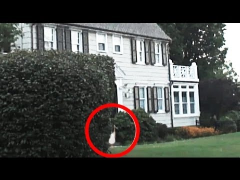 GHOST FILMED AT REAL AMITYVILLE HAUNTED HOUSE ON LONG ISLAND, NEW YORK