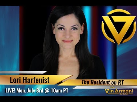 "The Vin Armani Show (7/3/17) - Lori Harfenist - ""The Resident"" on RT"