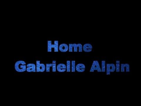 Home - Gabrielle Alpin (Karaoke)