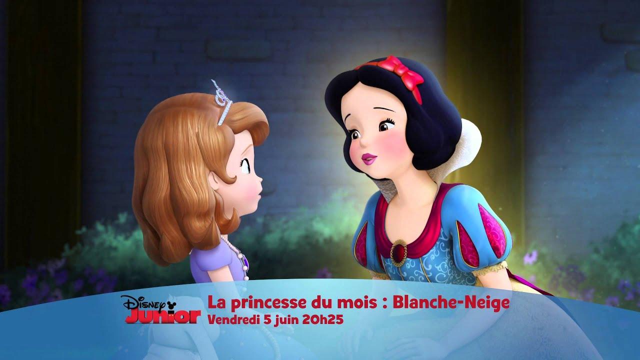 La princesse du mois de juin blanche neige vendredi 5 juin 20h25 sur disney junior youtube - La princesse blanche neige ...