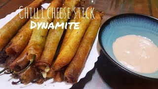 How to make Chilli cheese stick (Dynamite)