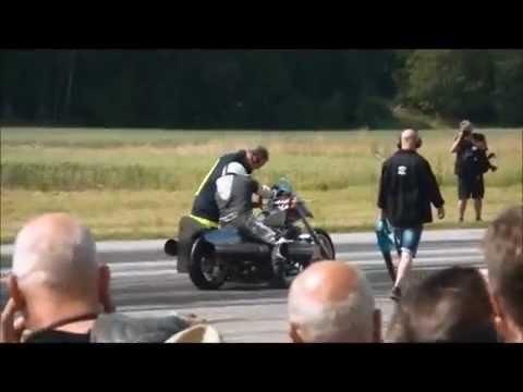 Hot Rod Reunion 2015 pulse jet bike singel race